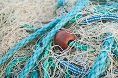 Textura da rede de pesca Fotos de Stock