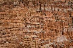 Textura da rocha, Bryce Canyons fotos de stock royalty free