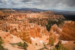 Textura da rocha, Bryce Canyons fotos de stock