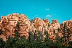 Textura da rocha, Bryce Canyons imagem de stock