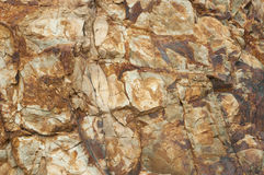 textura da rocha da cor Imagem de Stock