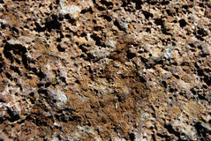 Textura da rocha da lava Fotos de Stock Royalty Free