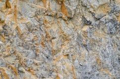 Textura da rocha da montanha Fotografia de Stock Royalty Free