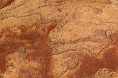 Textura da rocha de Brown Imagens de Stock