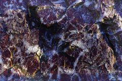 A textura da rocha de Ural Imagem de Stock Royalty Free