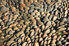 Textura da rocha do círculo imagens de stock