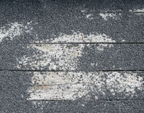 Textura da rocha no slat de madeira Imagem de Stock Royalty Free