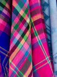 Textura da roupa. Fotos de Stock
