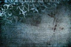 Textura da sarja de Nimes Fotografia de Stock Royalty Free