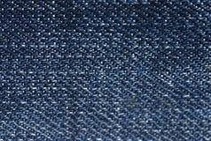 Textura da sarja de Nimes imagens de stock
