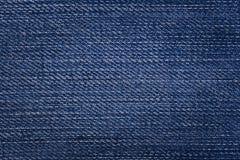 Textura da sarja de Nimes Fotos de Stock