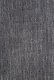 Textura da sarja de Nimes preta Fotografia de Stock Royalty Free
