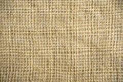 Textura da serapilheira flax Fim do fundo de matéria têxtil acima Macro fotografia de stock royalty free
