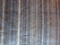 Textura da tela cinzenta na listra branca Cópia do preto da fábrica dos vinhos com números fotografia de stock