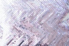 Textura da tela com vislumbrar as lantejoulas de prata fotos de stock royalty free