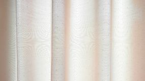 Textura da tela da cortina Fotografia de Stock