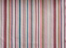 Textura da tela da listra Foto de Stock