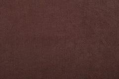 Textura da tela de Brown Imagens de Stock Royalty Free