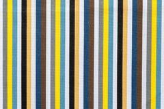 Textura da tela de listras coloridas Foto de Stock