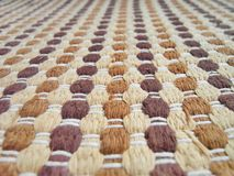 Textura da tela de tecelagem Fotos de Stock Royalty Free