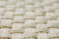 Textura da tela de weave de lãs Imagens de Stock Royalty Free