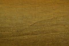 Textura da tela do ouro Fotografia de Stock