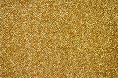 Textura da tela do ouro Imagens de Stock