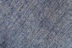 Textura da tela da sarja de Nimes sem uma emenda Foto de Stock