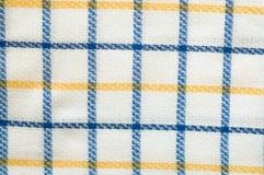 Textura da tela, teste padrão chequered Fotografia de Stock Royalty Free