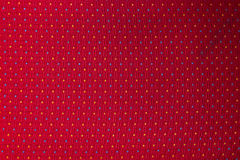 Textura da tela usada em assentos do trem Fotos de Stock Royalty Free
