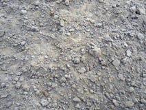 Textura da terra, terra com protuberâncias fotos de stock royalty free
