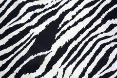 Textura da tira da zebra Fotografia de Stock