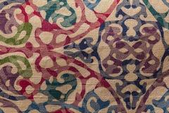 Textura da toalha de mesa Fotos de Stock Royalty Free