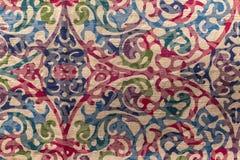 Textura da toalha de mesa Imagens de Stock