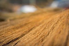 Textura da vassoura Fotografia de Stock