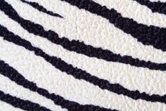 Textura da zebra Fotografia de Stock