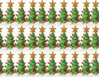 Textura das árvores de Natal Foto de Stock Royalty Free