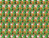 Textura das árvores de Natal Imagens de Stock Royalty Free