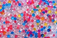 Textura das bolas da água da cor Fotos de Stock Royalty Free
