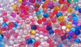 Textura das bolas da geleia da cor Foto de Stock