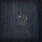 Textura das calças de brim Imagem de Stock Royalty Free