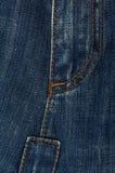 Textura das calças de brim Fotos de Stock Royalty Free