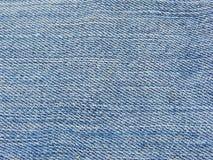 Textura das calças de brim Imagem de Stock
