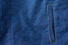 Textura das calças de brim da sarja de Nimes Textura do fundo da sarja de Nimes para o projeto Imagens de Stock