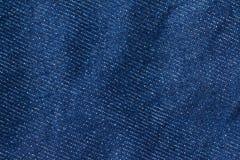 Textura das calças de brim da sarja de Nimes Textura do fundo da sarja de Nimes para o projeto Fotografia de Stock