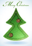 Textura das calças de brim do Natal Imagens de Stock