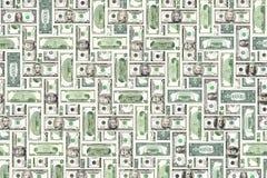 Textura das contas de dólar fotos de stock