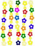 Textura das flores Ilustração do Vetor
