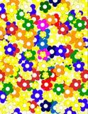 Textura das flores Ilustração Royalty Free