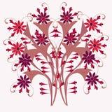 Textura das flores 3-01 Foto de Stock